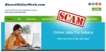 Why Bharat Online Work is a Scam – Review