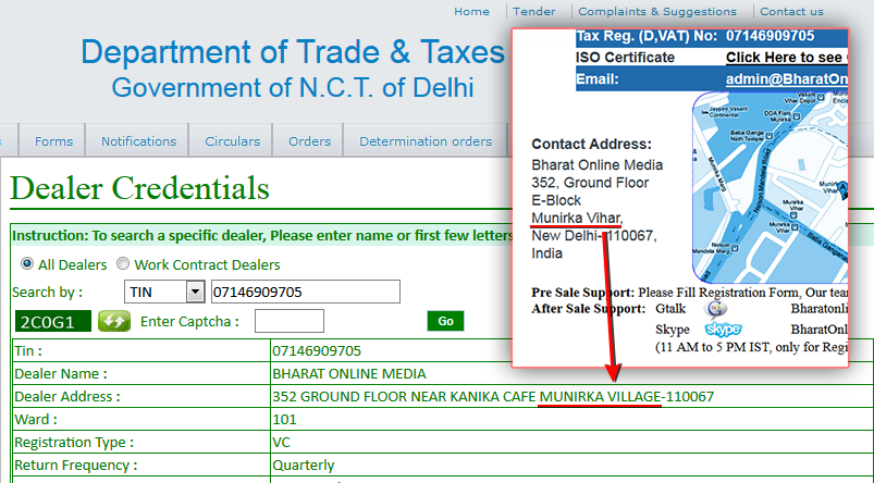bharat-fake-address