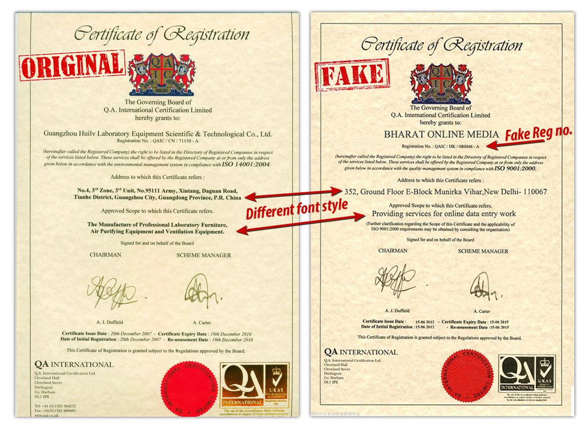 fake-certificate