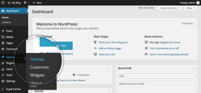 how to make website with wordpress